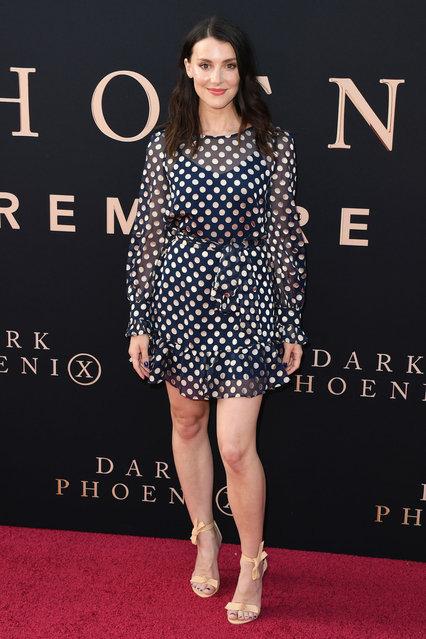 "Emma Lahana attends the Premiere Of 20th Century Fox's ""Dark Phoenix"" at TCL Chinese Theatre on June 04, 2019 in Hollywood, California. (Photo by Jon Kopaloff/FilmMagic)"