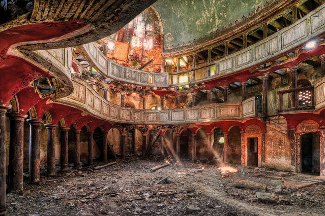 Gods Forgotten Palace. (Photo by Matthias Haker/Caters News)