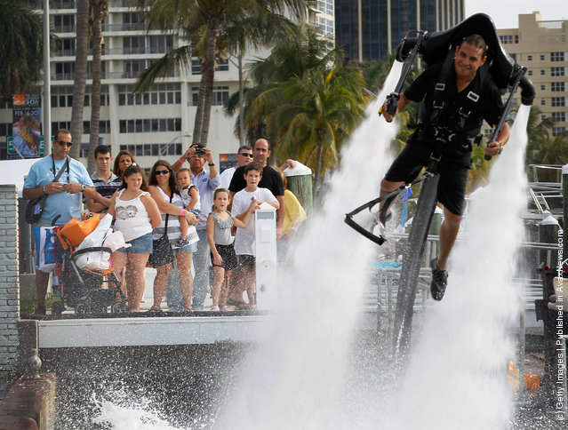 "Miami Yacht And Brokerage Show Features ""JetLev"""