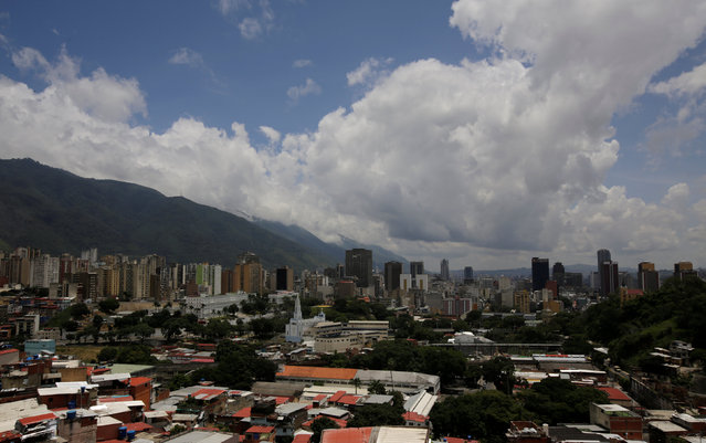 General view of Caracas, Venezuela September 10, 2016. (Photo by Henry Romero/Reuters)