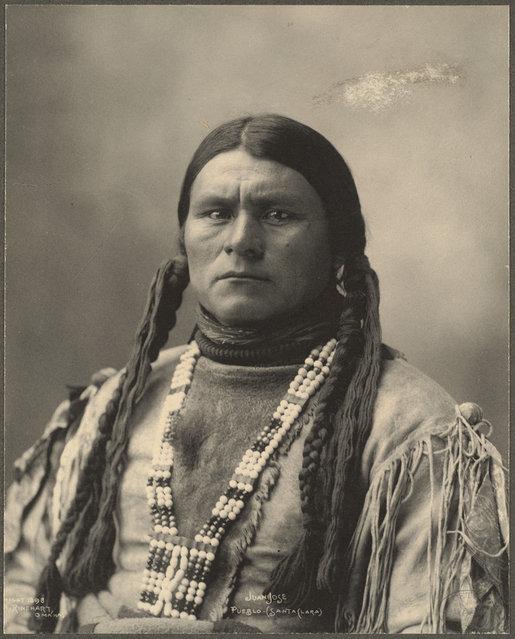Juan Jose, Pueblo (Santa Clara), 1899. (Photo by Frank A. Rinehart)