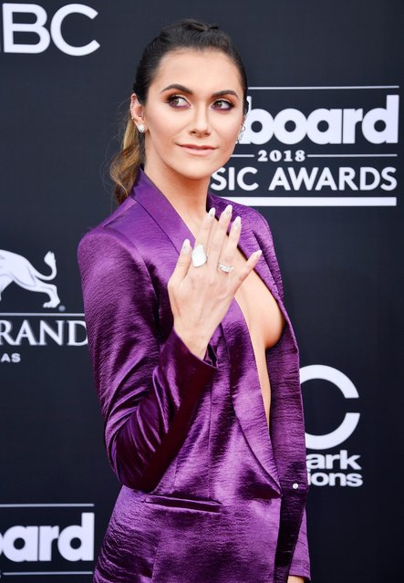 Actor Alyson Stoner attends the 2018 Billboard Music Awards at MGM Grand Garden Arena on May 20, 2018 in Las Vegas, Nevada. (Photo by Frazer Harrison/Getty Images)