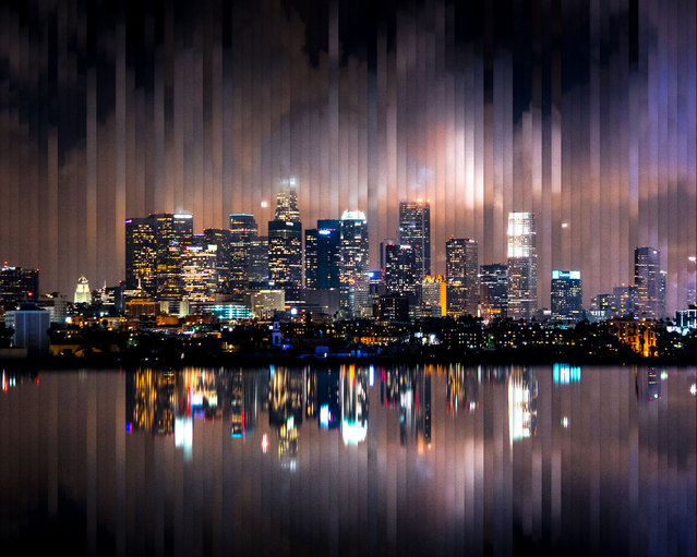 Los Angeles: 72 photographs, 1 hour 58 minutes. (Photo by Daniel Marker-Moors/Caters News)
