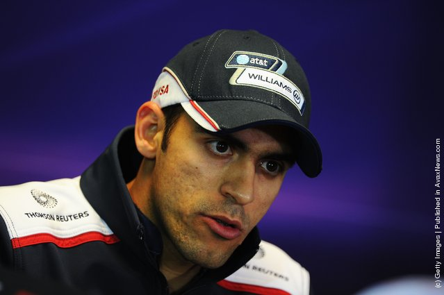 Pastor Maldonado of Venezuela and Williams