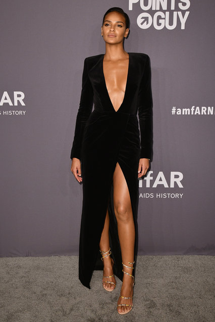 Gracie Carvalho attends the amfAR New York Gala 2019 at Cipriani Wall Street on February 6, 2019 in New York City. (Photo by Jared Siskin/amfAR/Getty Images)