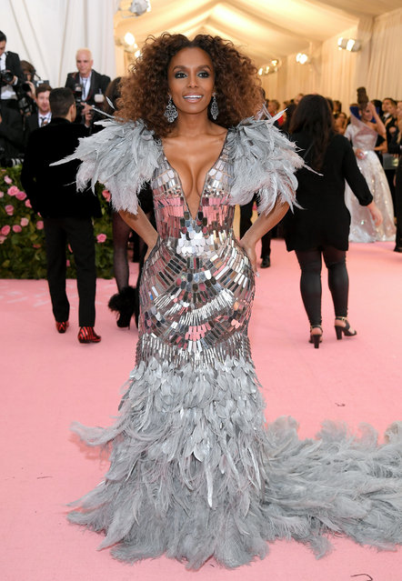 Janet Mock attends The 2019 Met Gala Celebrating Camp: Notes on Fashion at Metropolitan Museum of Art on May 06, 2019 in New York City. (Photo by Neilson Barnard/Getty Images)