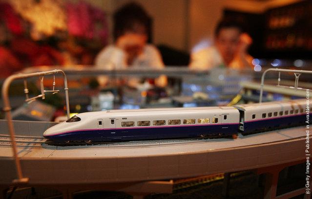 Model Train Bar