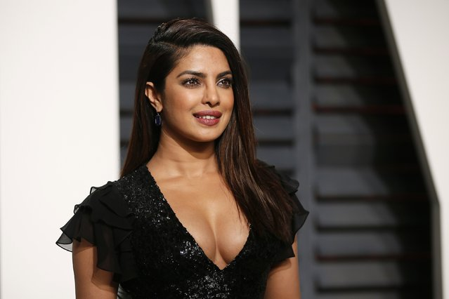Actress Priyanka Chopra arrives for the Vanity Fair Oscar Party hosted by Graydon Carter at the Wallis Annenberg Center for the Performing Arts on February 26, 2017 in Beverly Hills, California. (Photo by Danny Moloshok/Reuters)