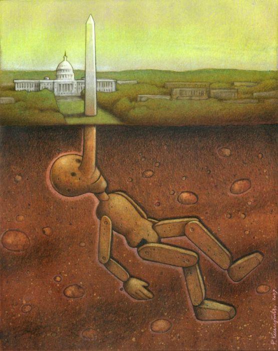 Satirical Art of Pawel Kuczynski