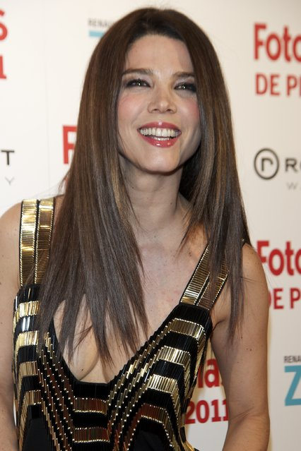 Colombian-Spanish actress Juana Acosta attends the Fotogramas Awards 2012 at Joy Eslava Club  on March 12, 2012 in Madrid, Spain. (Photo by Carlos Alvarez/Getty Images)
