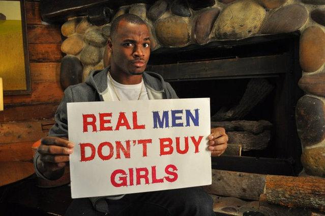 Real Men Don't Buy Girls