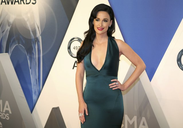 Singer Kacey Musgraves arrives at the 49th Annual Country Music Association Awards in Nashville, Tennessee November 4, 2015. (Photo by Jamie Gilliam/Reuters)