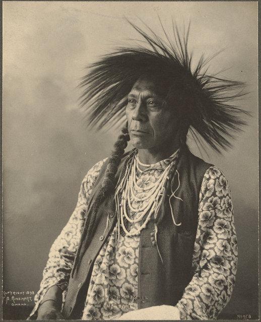 Antoine Moise, Flathead, 1899. (Photo by Frank A. Rinehart)