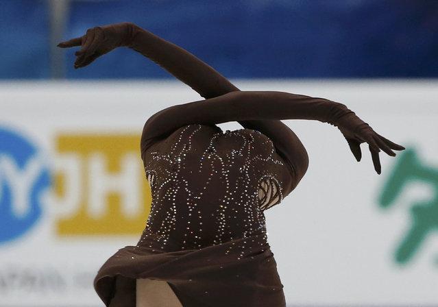 Figure Skating, ISU Grand Prix Rostelecom Cup 2016/2017, Ladies Short Program, Moscow, Russia on November 4, 2016. Julia Lipnitskaia of Russia competes. (Photo by Grigory Dukor/Reuters)