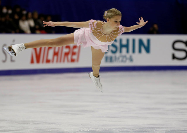 Figure Skating, ISU Grand Prix of Figure Skating NHK Trophy 2016/2017, Ladies Free Program, Sapporo, Japan on November 26, 2016. Maria Sotskova of Russia competes. (Photo by Issei Kato/Reuters)