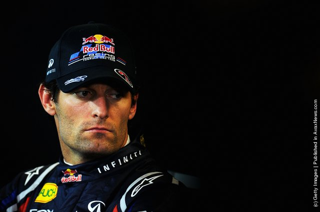 Mark Webber of Australia and Red Bull Racing