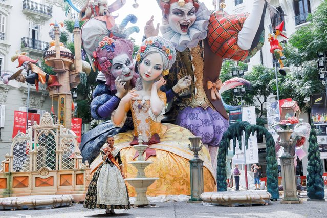 Fallas festival kicks off after its suspension due to the coronavirus disease (COVID-19) pandemic in Valencia, Spain, September 1, 2021. (Photo by Eva Manez/Reuters)