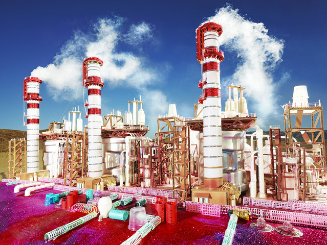 David LaChapelle, Land Scape Kings Dominion, 2013, chromogenic print, 72 x 96 inches, 182.9 x 243.8 cm, edition of 3. Image courtesy of the artist and Paul Kasmin Gallery. (Photo by David LaChapelle Studio)