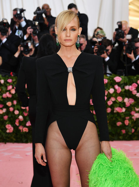 Amber Valletta attends The 2019 Met Gala Celebrating Camp: Notes on Fashion at Metropolitan Museum of Art on May 06, 2019 in New York City. (Photo by Dimitrios Kambouris/Getty Images for The Met Museum/Vogue)