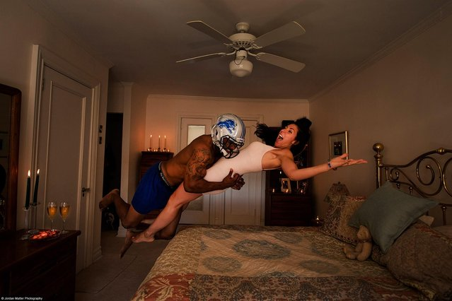 """Valentines Day"" – Erik Coleman – NFL Free Safety. (Photo by Jordan Matter)"