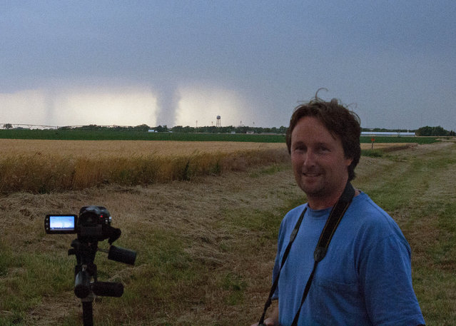 Michaels photography, mainly shot in Australia, has also taken him to the United States', where he was able to capture spectacular storms in famous Tornado Alley, in May 2010, May 2012 and April 2013, having based himself in Kansas during his time there. (Photo by Michael Bath/Caters News)