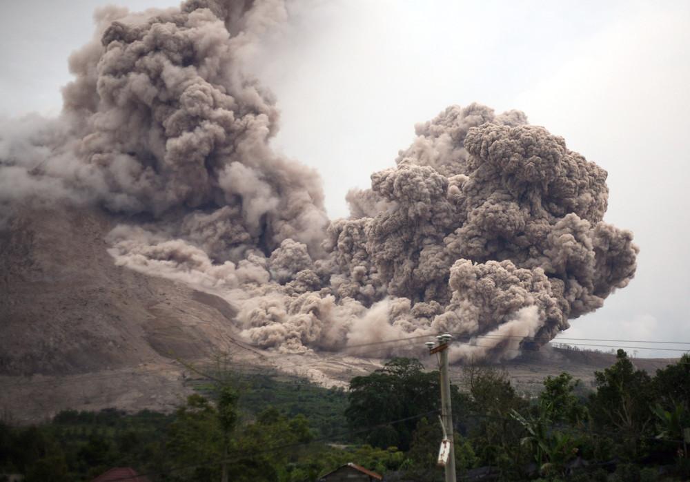 Indonesian Volcano Mount Sinabung