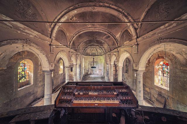 Organ. (Photo by Matthias Haker/Caters News)