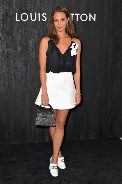 Alicia Vikander attends the Louis Vuitton's Jewelry Launch as part of Paris Fashion Week on January 21, 2020 in Paris, France. (Photo by Dominique Charriau/WireImage)