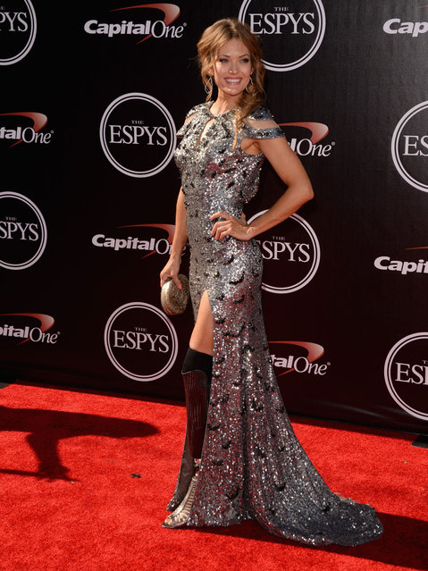 Paralympian Amy Purdy attends The 2014 ESPYS at Nokia Theatre L.A. Live on July 16, 2014 in Los Angeles, California. (Photo by Jason Merritt/Getty Images)