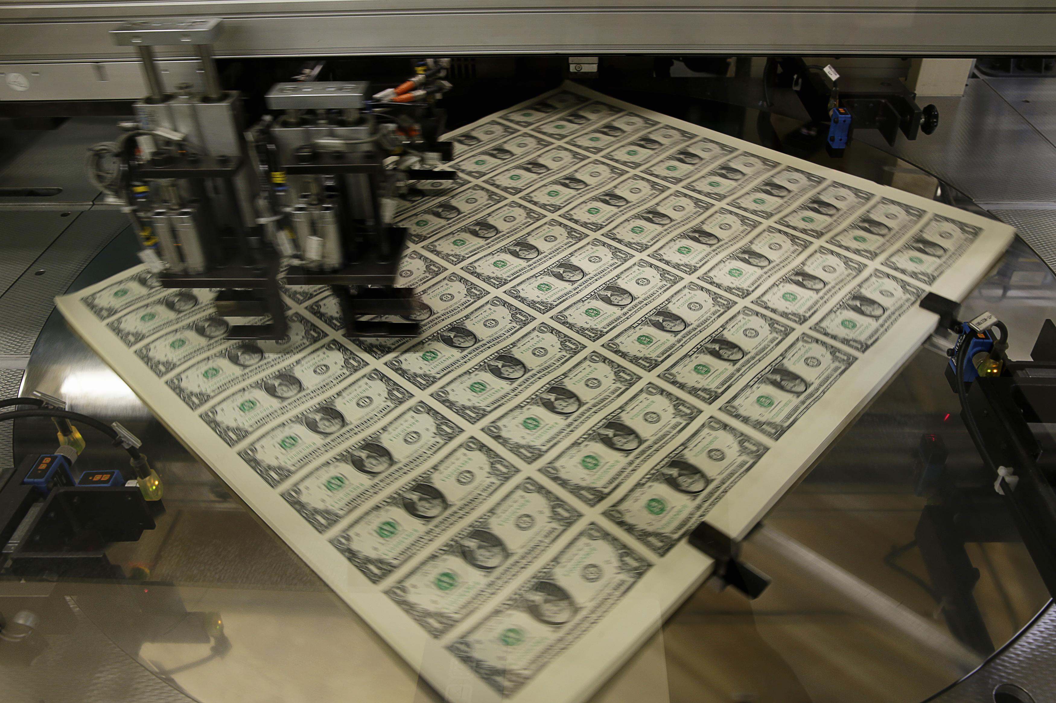 изготовление денег картинки после