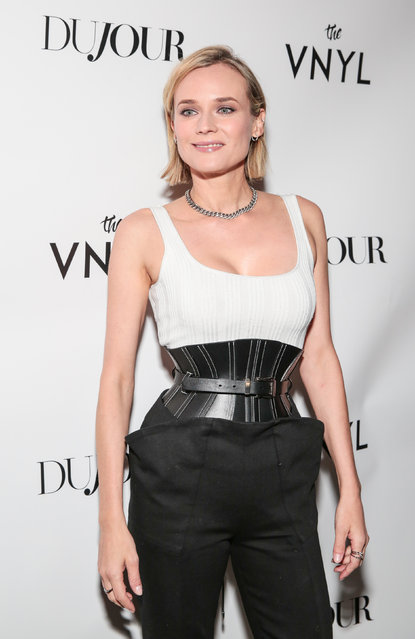 Diane Kruger celebrates her DuJour Magazine cover at The Vnyl on January 25, 2018 in New York City. (Photo by CJ Rivera/Getty Images)