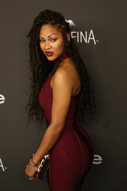 Actress Meagan Good attends the 17th Annual Instyle and Warner Bros. Pictures Golden Globes After Party in Beverly Hills, California January 10, 2016. (Photo by David McNew/Reuters)