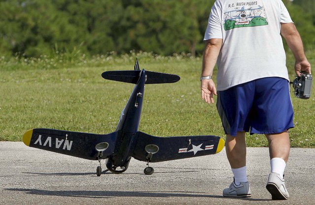 This plane survived a rough landing. (Photo by Bill Ingram/The Palm Beach Post)