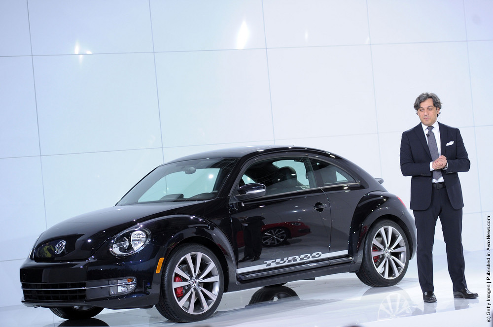 Volkswagen Celebrates The Arrival Of The 21st Century Beetle In New York City