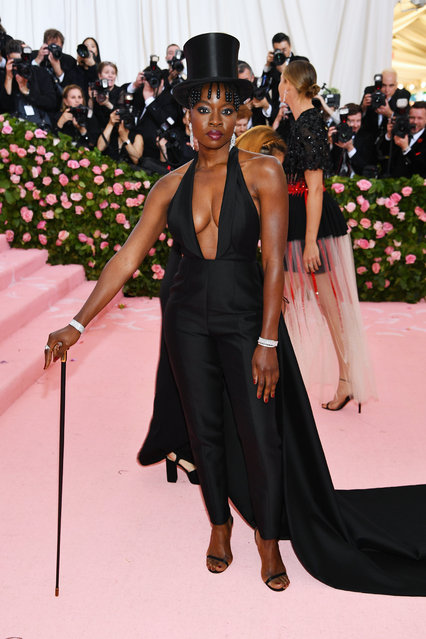 Danai Gurira attends The 2019 Met Gala Celebrating Camp: Notes on Fashion at Metropolitan Museum of Art on May 06, 2019 in New York City. (Photo by Dimitrios Kambouris/Getty Images for The Met Museum/Vogue)