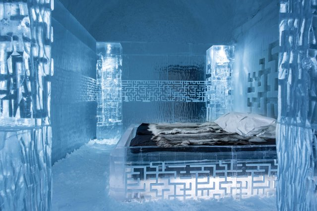 Each room holds a temperature of -5 to -8 degrees Celsius. (Photo by Icehotel.com/Exclusivepix Media)