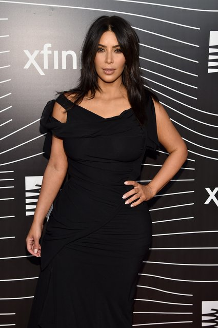TV personality Kim Kardashian attends the 20th Annual Webby Awards at Cipriani Wall Street on May 16, 2016 in New York City. (Photo by Dimitrios Kambouris/Getty Images for The Webby Awards)