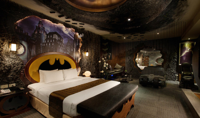 Batman Hotel In Taiwan