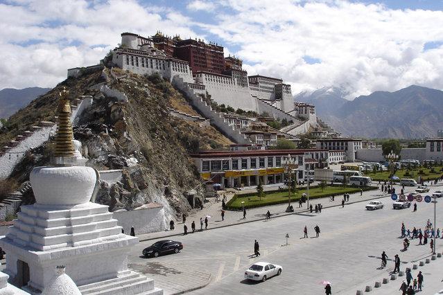 Potala Palace In Tibetan