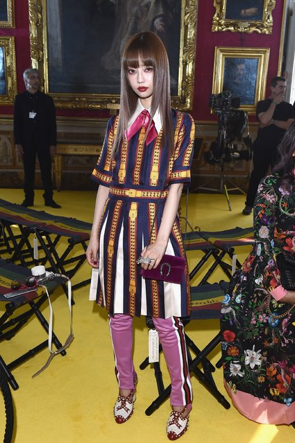 Risa Nakamura attends the Gucci Cruise 2018 fashion show at Palazzo Pitti on May 29, 2017 in Florence, Italy. (Photo by Stefania D'Alessandro/Getty Images for Gucci)