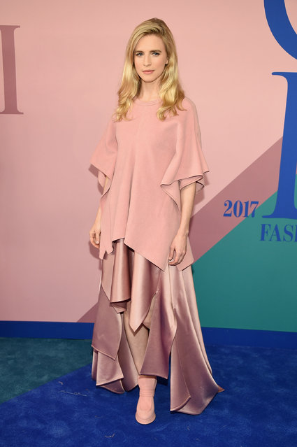 Brit Marling attends the 2017 CFDA Fashion Awards at Hammerstein Ballroom on June 5, 2017 in New York City. (Photo by Dimitrios Kambouris/Getty Images)