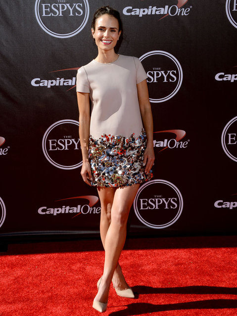 Actress Jordana Brewster attends The 2014 ESPYS at Nokia Theatre L.A. Live on July 16, 2014 in Los Angeles, California. (Photo by Jason Merritt/Getty Images)