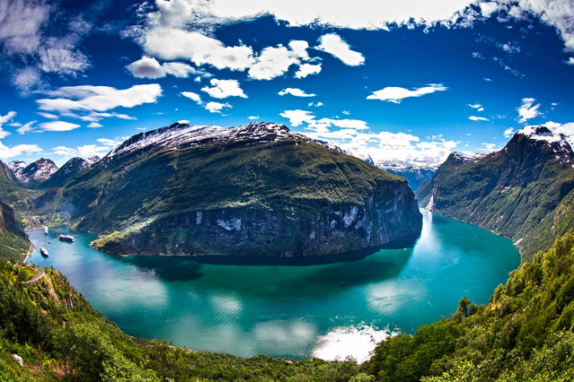 Geiranger, More og Romsdal, Norway, Scandinavia. (Photo by Ottar Walderhau/Getty Images)