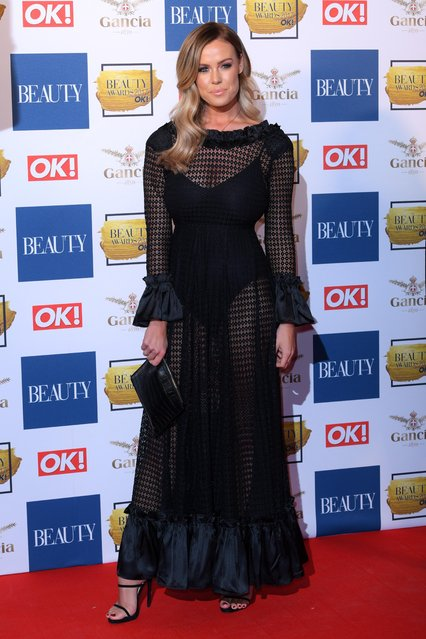 Chloe Meadows attends The Beauty Awards at Tower of London on November 28, 2017 in London, England. (Photo by David Fisher/Rex Features/Shutterstock)