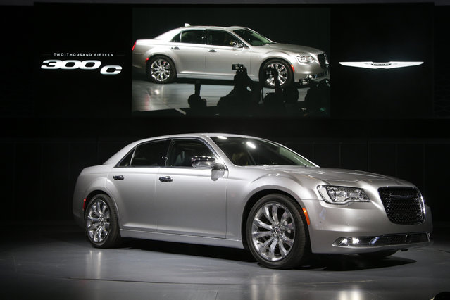 The 2015 Chrysler 300C sedan is introduced at the Los Angeles Auto Show Wednesday, November 19, 2014, in Los Angeles. (Photo by Jae C. Hong/AP Photo)