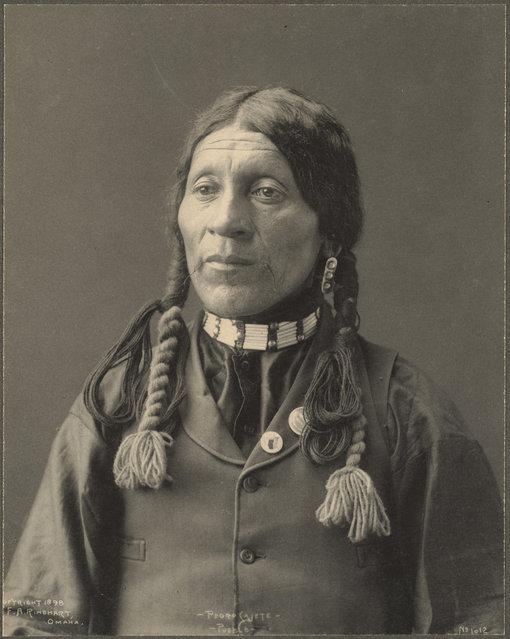 Pedro Cajete, Pueblo, 1899. (Photo by Frank A. Rinehart)
