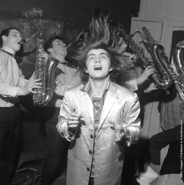 Pirate radio station operator and would-be member of parliament, Screaming Lord Sutch (David Sutch)
