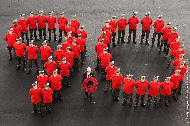 The Highland Fusiliers Launch The Scottish Poppy Appeal