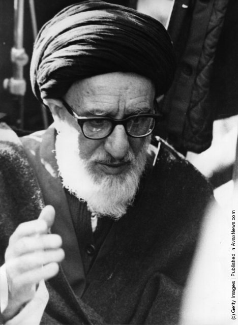 1979: Ayatollah Mahmoud Talaghani, one of the most militant of Iran's religious leaders, jailed for 40 years