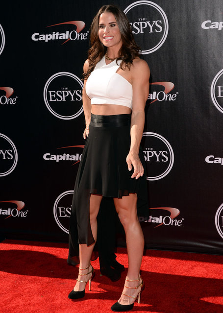Boxer Danyelle Wolf attends The 2014 ESPYS at Nokia Theatre L.A. Live on July 16, 2014 in Los Angeles, California. (Photo by Jason Merritt/Getty Images)